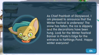 Chief Poobah announcement